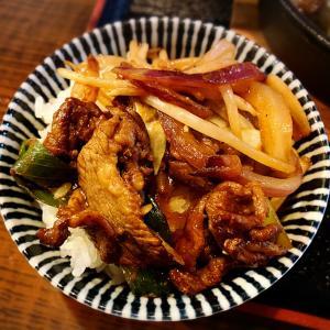 ラム肉と野菜の鉄板焼き定食