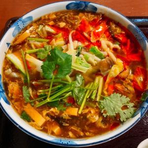 サンラータン麺と担々麺
