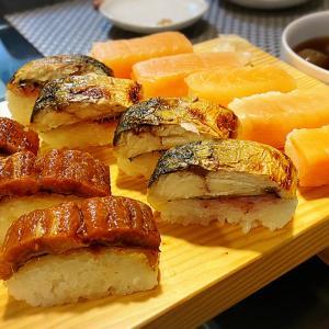 鯖寿司パーティー