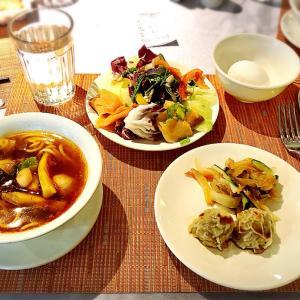 最終日 楽しかった台北旅行:竹里館、機内食
