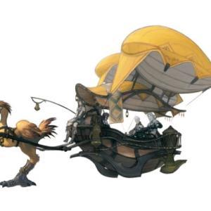 【FF14】韓国版にて「チョコボキャリッジ」らしきアートイラストがポロリ!これはもしかしてマウント実装ワンチャンある…?【画像有】