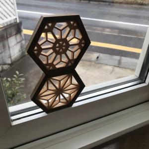 出窓の模様替え