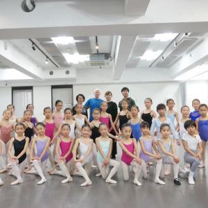 終了いたしました!第11回 パリ・オペラ座バレエ学校教師講習会~マーク・ドゥ・ブエ2020〜