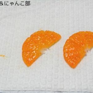 オレンジ果肉の着色