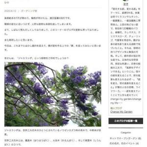 『ディノス・ガーデンスタイリング』に、新しい記事をアップしました!(第93回)