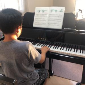 男の子で初のピアノスタディ7修了!