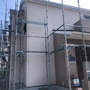 【お知らせ】外壁塗装工事始まります。