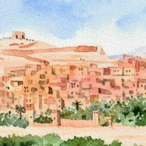 砂漠に眠る都市