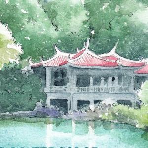 新宿御苑台湾閣