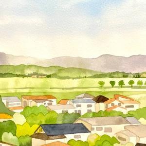家々のある風景