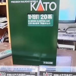 【Nゲージ】KATO 20系寝台客車 収納敗北(?)編