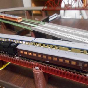 【Nゲージ】初心者の俺の路線 2020.5.7 C11と旧型客車
