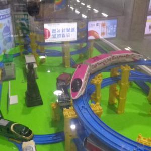 高知駅で見たプラレール