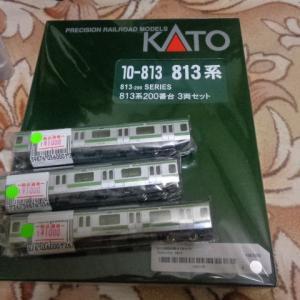 【Nゲージ】KATO 10-813 「813系200番台 3両セット」 購入編