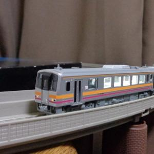 【Nゲージ】TOMIX 92138 「JRキハ120形ディーゼルカー(津山線)セット」 出来の良い車両編