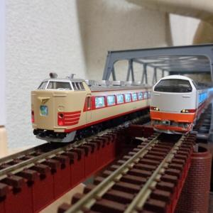 【Nゲージ】ヱヌゲで旅する「485系」