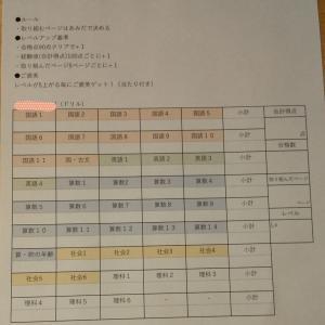 夏休みの宿題をゲーム化☆