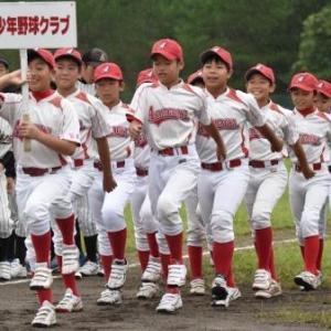 立町少年野球クラブ主催招待試合(vs荒町体振野球部)残念ながら雨天途中中止に