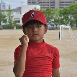 新入団員のご紹介(4年生君)
