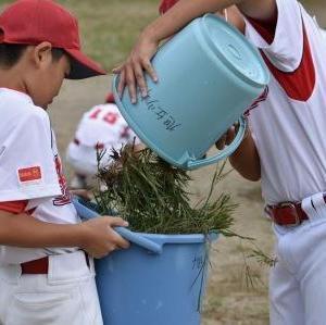 仙台リーグ閉会式(vs八幡小少年野球クラブ)2020シーズン、ありがとうございましたm(__)m