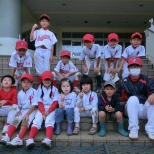 キッズ 練習試合(vs錦ケ丘スポーツ少年団 vs吉成野球スポーツ少年団)
