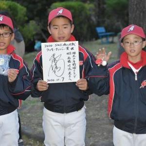 「2020 SNS頂上決戦 学童野球交流大会」vs北仙台ジャガーズ