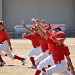 4、5年生は練習、練習