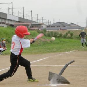 キッズ練習試合(vs岩切少年野球クラブ)体験参加、ありがとうございました