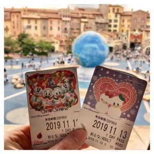 11/13(水)クリスマスな舞浜散歩♪