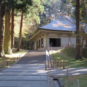 桜の咲く季節に奥州平泉の中尊寺、毛越寺、達谷窟、巌美渓を訪ねて