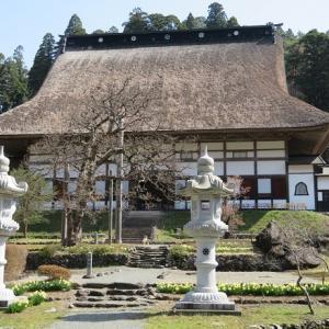 奥州市の正法寺、黒石寺、駒形神社から遠野市のふるさと村、福泉寺を訪ねて