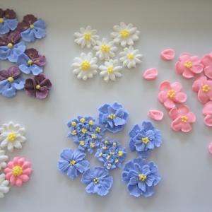 ロイヤルアイシングで春の花