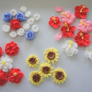 ロイヤルアイシングで夏の花