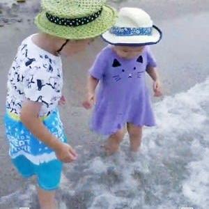 海で遊ぶ☆海のキルト