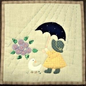 雨のスーちゃん★バタフライ★お手伝い