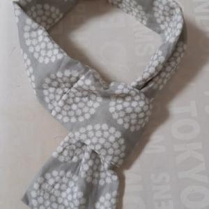 一輪のバラステンドグラス☆Wガーゼのスカーフ