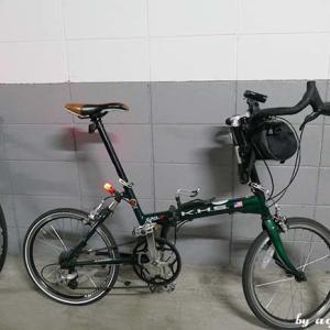 金曜日は自転車出勤 … 勿論、KHS君