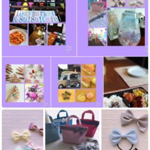 明日開催1day market&su!su! cafe