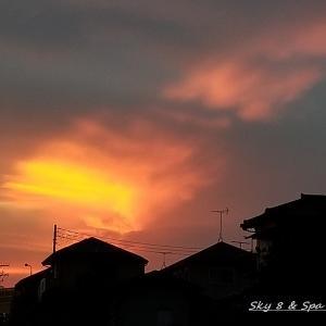 ◆ 見上げてみれば「空」その2、夕焼け編(2020年1月)