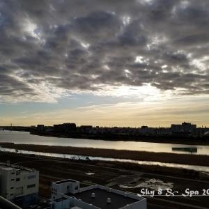 ◆ 見上げてみれば「空」その5、十種雲形「層積雲」編(2020年1月)
