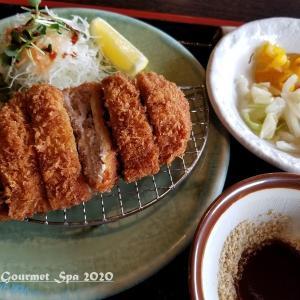 ◆ 日本五大桜の狩宿下馬桜、その4「かさねとんかつ かつ銀」へ(2020年3月)