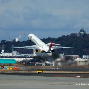 ◆ セントレア開港前、名古屋空港だった日(2005年1月)
