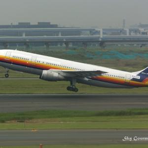 ◆ A300が最後に離陸した日@羽田(2006年6月)