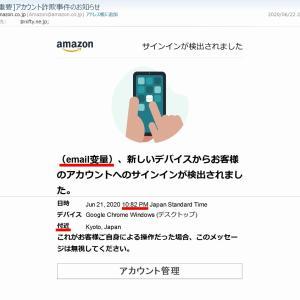 ◆ 「フィッシング詐欺メール」を受け取った日(2020年6月)