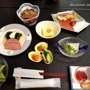 ◆ 北海道爆走 3,000km、その5「四季かおる宿 世寿美屋」へ、朝食編(2020年7月)