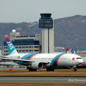 ◆ もう会えない飛行機たち、その9 「レインボーセブン初の退役機」(2020年9月)