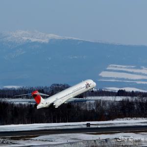 ◆ もう会えない飛行機たち、その10 「マクドネル・ダグラス MD-90」(2005年3月)