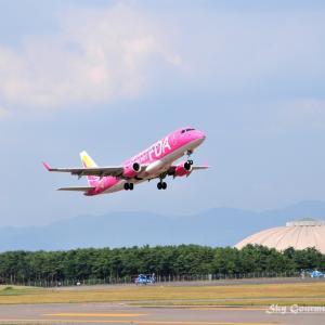 ◆ 「ちびまる子ちゃん」@信州松本空港(2010年9月)