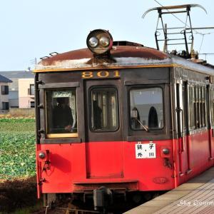 ◆ 「銚子電鉄 デハ801」が走っていた日(2008年3月)