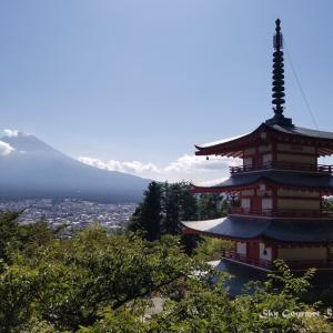 ◆ 「富士山」を見にドライブに行った日、その2【新倉山浅間公園・忠霊塔】へ(2020年9月)